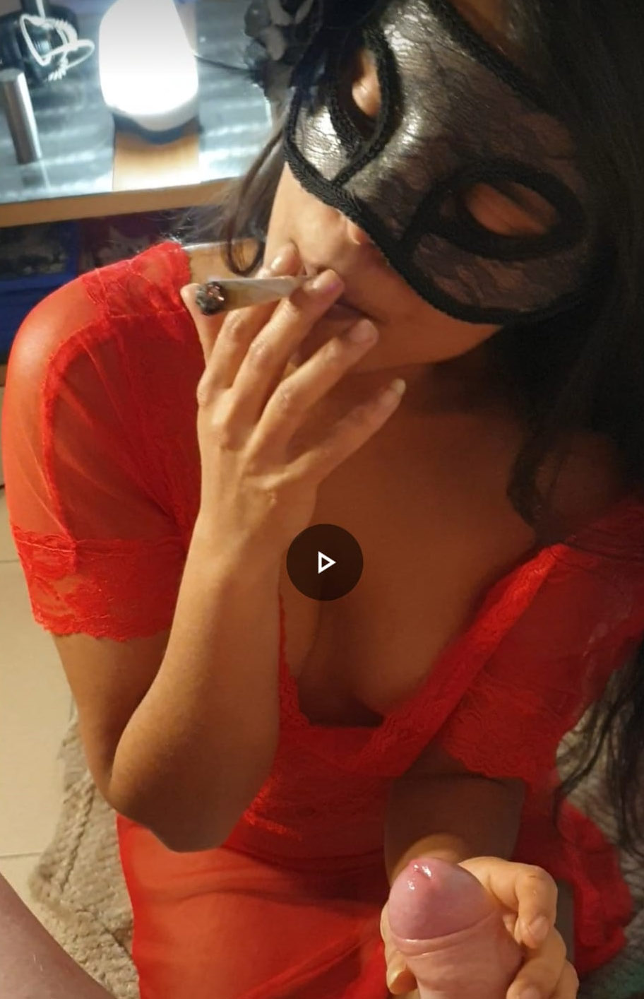 blowjob in red